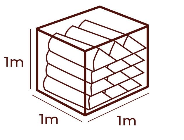 metr przestrzenny drewno kominkowe do kominkow lublin