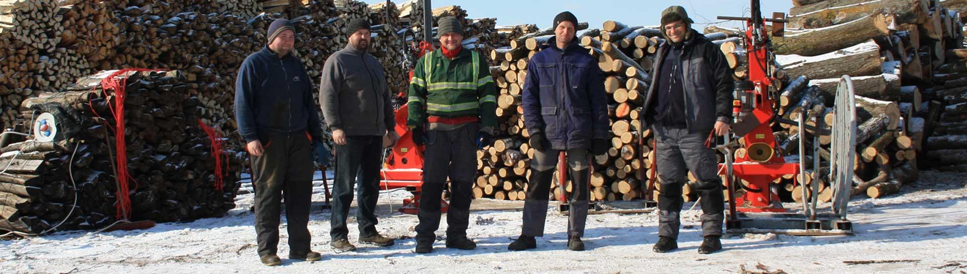 drewno stosy transport zaladunek przełupane lublin dab grab brzoza jesion olcha wiaz osika sosna